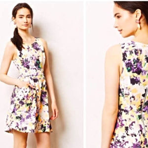 Sz 10 Maeve Neon Floral Dress